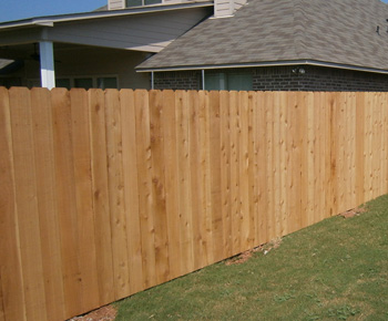 Wood Fence - Stockade
